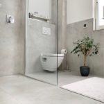 Seitenwand Dusche